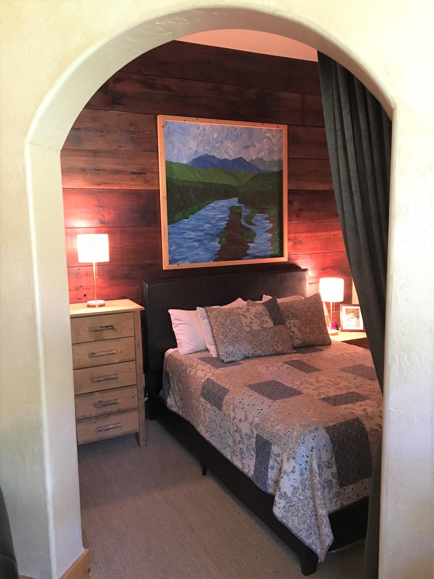 BEDROOM NOOK ARCHWAY